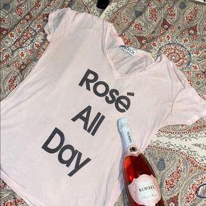 Rosé All Day tee